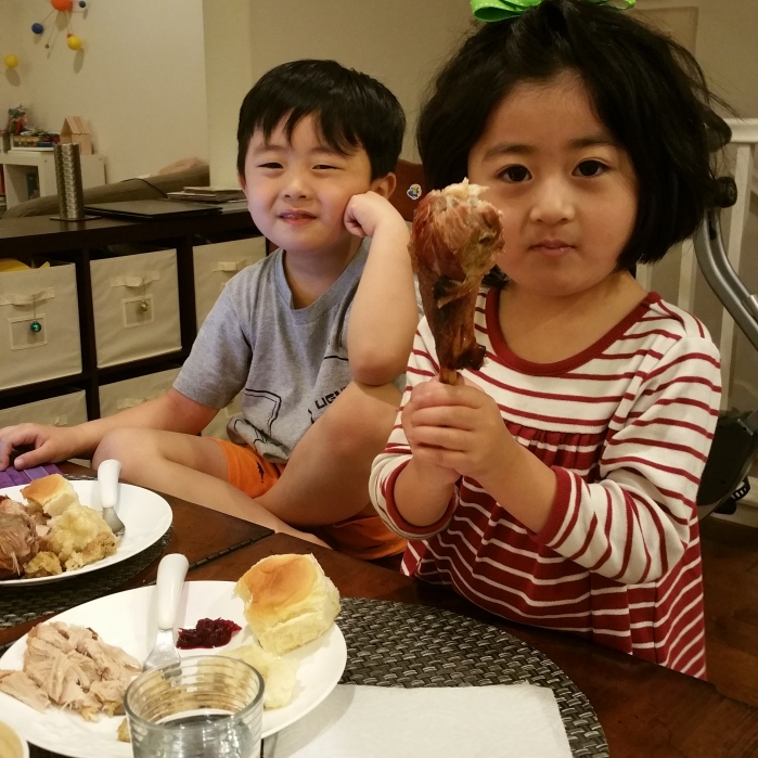 Big Thanksgiving appetite 2016