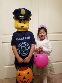 Ready for trick or treating!