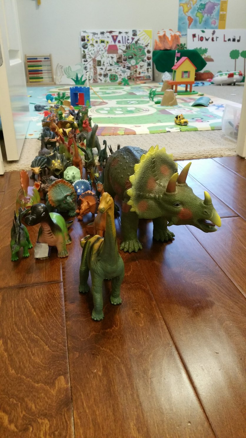 According to Elliot, the herd of herbivores are migrating to a new city.