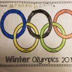 2018 Olympics Rings from a Olympics curriculum bought from very helpful website called TeachersPayTeachers.com.